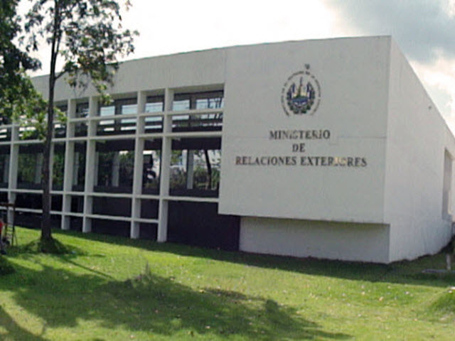 Eregulations tr mites el salvador for Oposiciones ministerio de exteriores