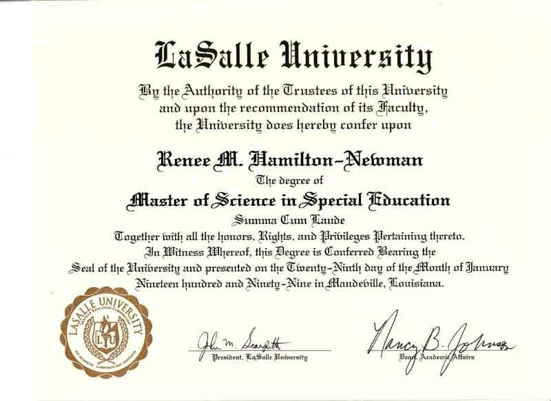 ejemplo formato diploma titulo universitario: